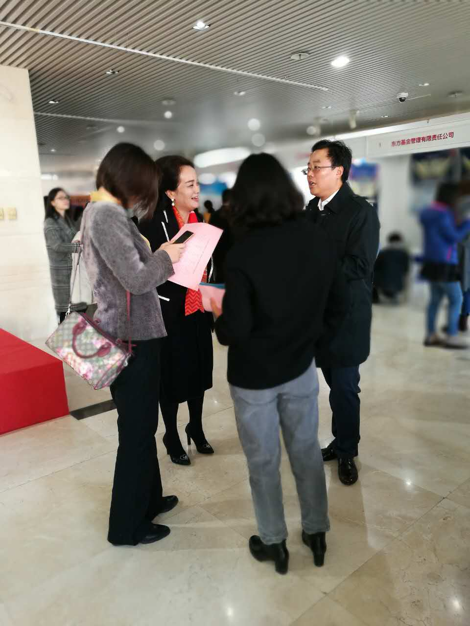 Huijian people walked into their alma mater--Central College of Finance and Economics for on-site recruitment